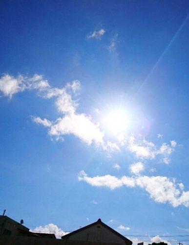 雲・・どこから来て、どこに消えていくのだろう・・今朝